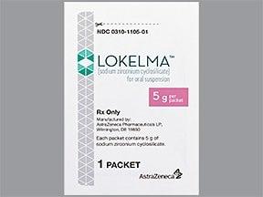Lokelma 5 gram oral powder packet