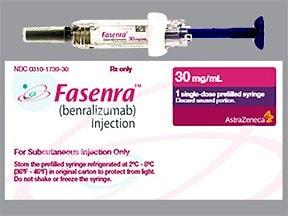 Fasenra 30 mg/mL subcutaneous syringe