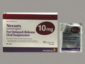 Nexium Packet 10 mg granules delayed release for susp