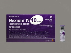 Nexium 40 mg intravenous solution