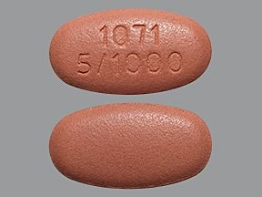Xigduo XR 5 mg-1,000 mg tablet,extended release