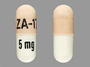 bromocriptine 5 mg capsule
