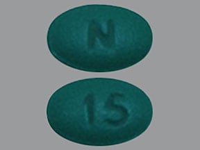 morphine ER 15 mg tablet,extended release