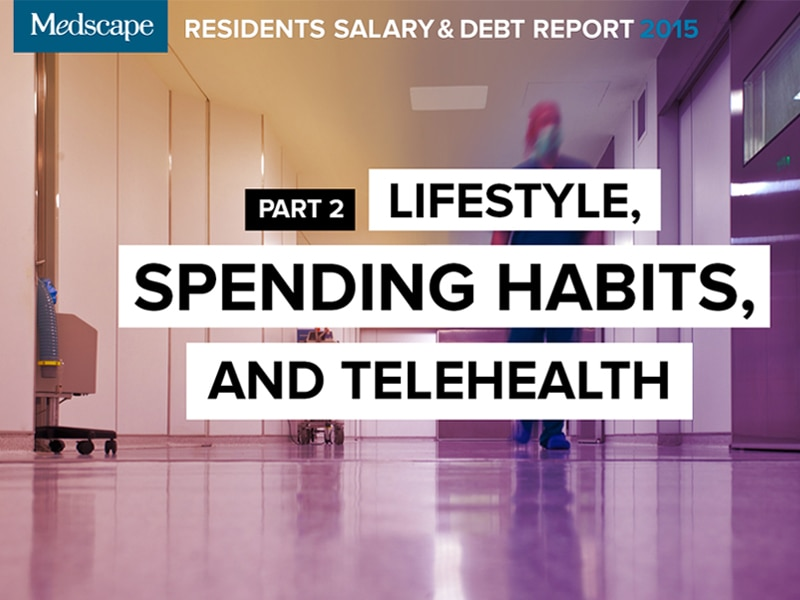 Residents Salary & Debt Report, Part 2: Lifestyle
