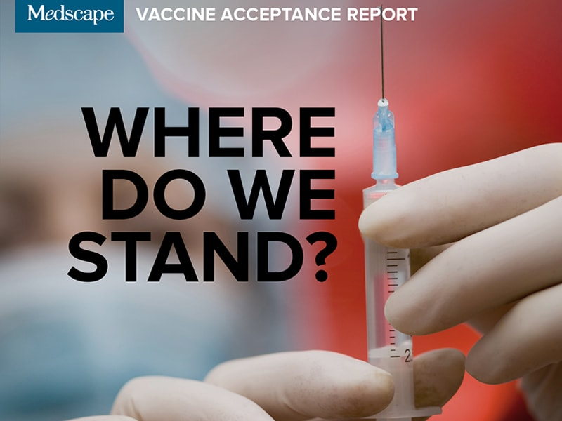 Medscape Vaccine Acceptance Report: Where Do We Stand?