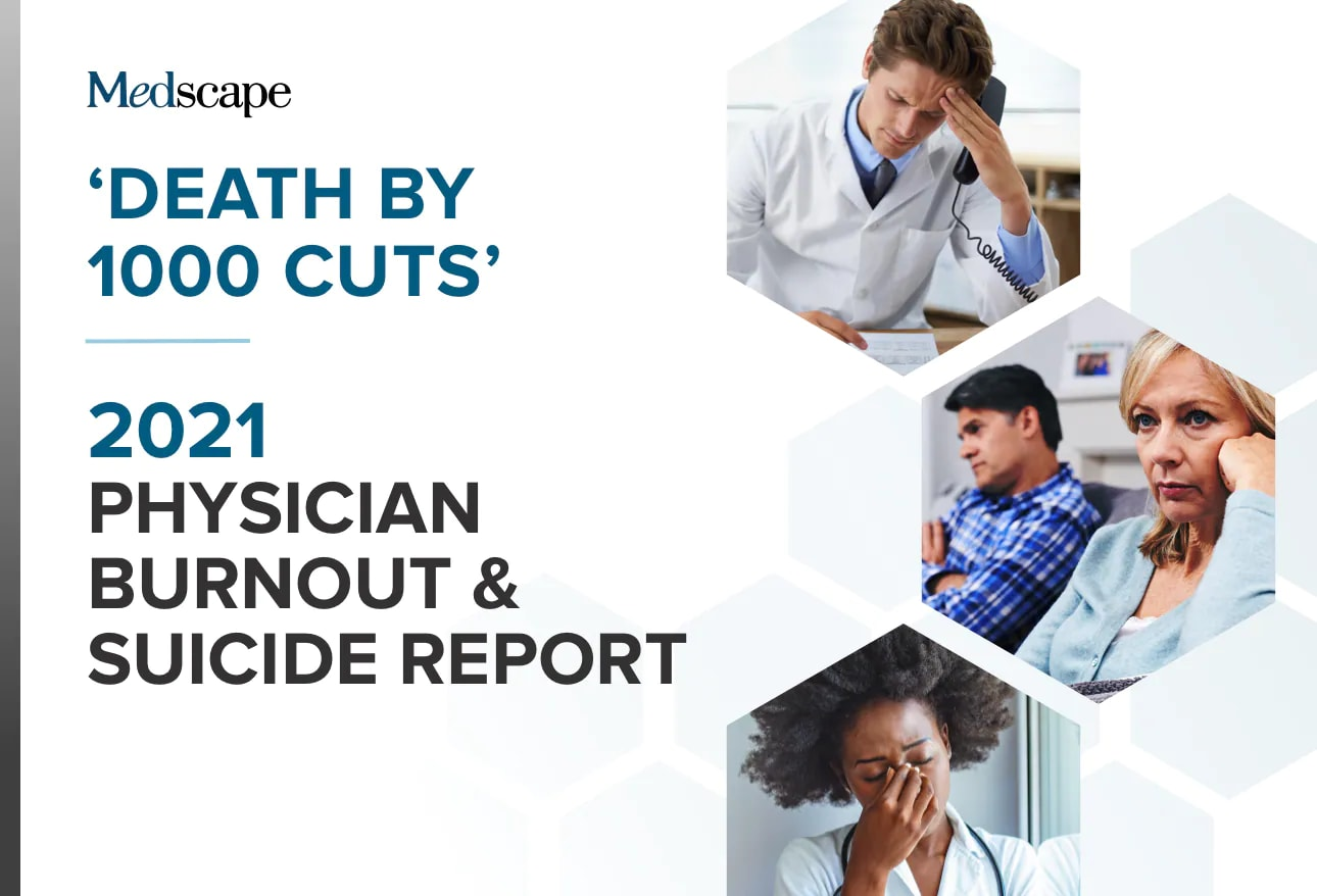 Medscape National Physician Burnout & Suicide Report 2021