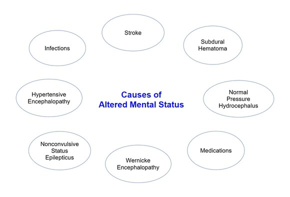 A Generation Loses Consciousness And >> 9 Causes Of Altered Mental Status In The Elderly