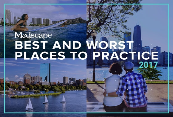 Best and Worst Places to Practice 2017