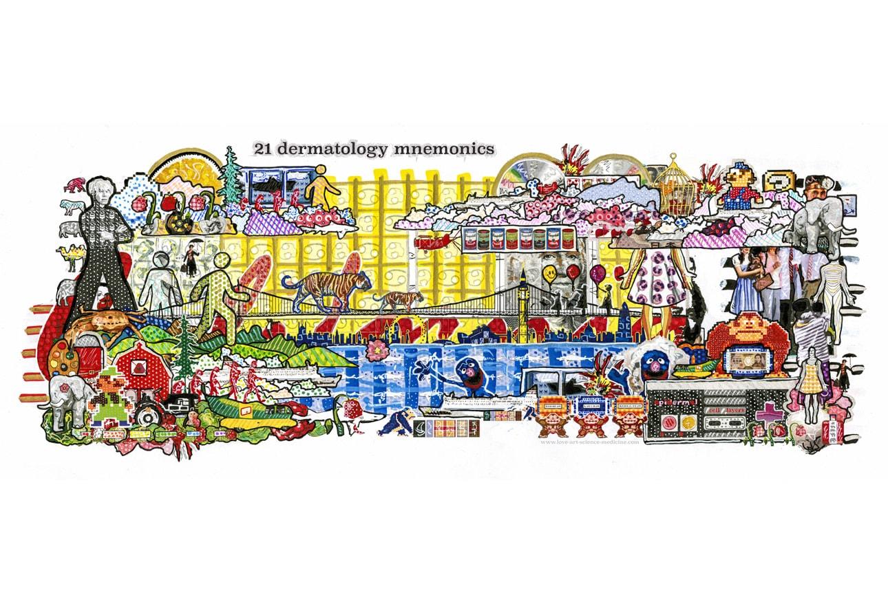 21 Dermatology Mnemonics
