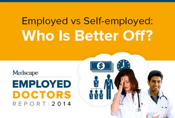 Employed Doctors Report: Are They Better Off?