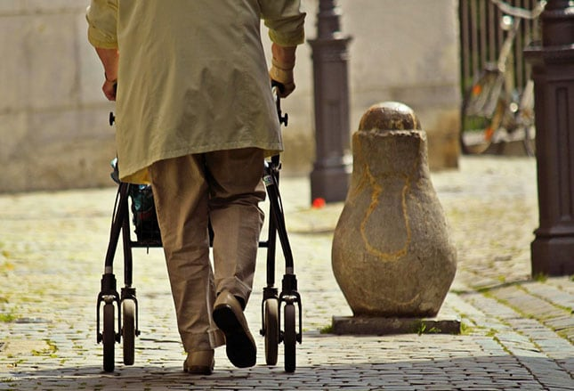 Falls in the Elderly: Causes, Injuries, and Management