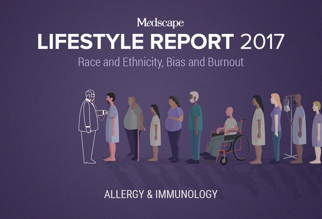 Medscape Allergist And Immunologist Lifestyle Report 2017 Race And