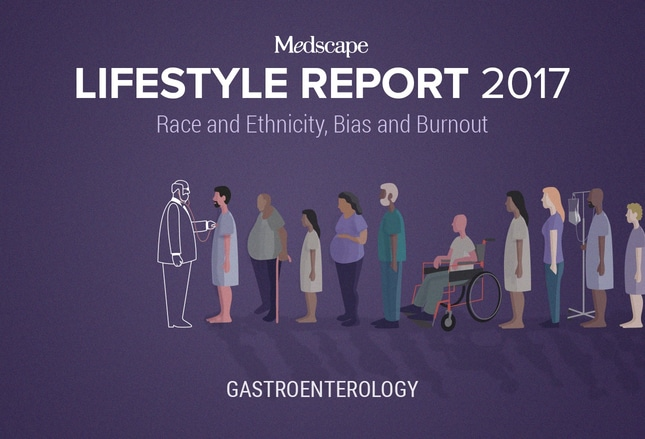 Medscape Gastroenterologist Lifestyle Report 2017: Race and
