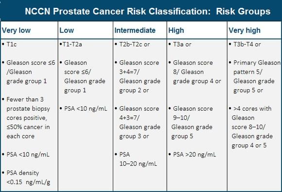 adenocarcinoma prostate tnm)