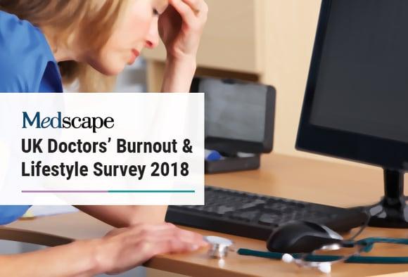 Medscape UK Doctors' Burnout & Lifestyle Survey 2018