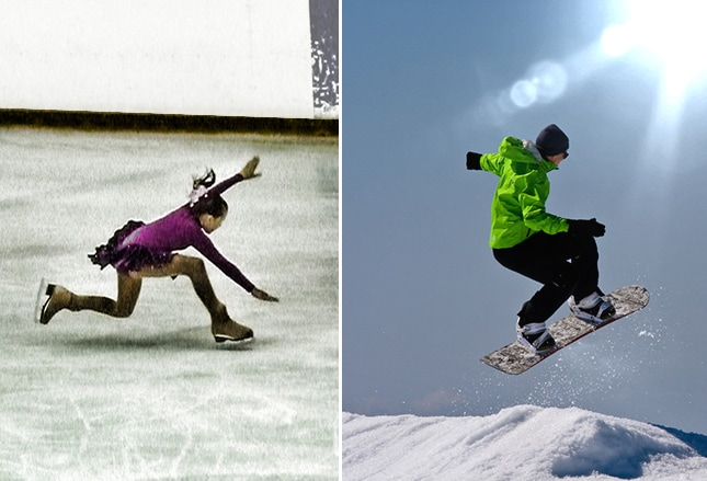 Common Injuries of 8 Winter Sports and Recreational Activities