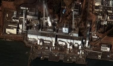 Earthquake and tsunami damage to the Fukushima I n