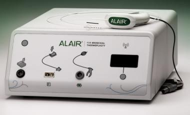 Alair™ RF Controller & Catheter. Courtesy of Bosto