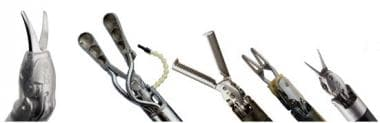 The daVinci Instruments. ©2011 Intuitive Surgical,