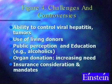 Challenges and controversies of liver transplantat