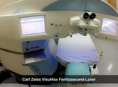 Carl Zeiss VisuMax Femtosecond Laser.