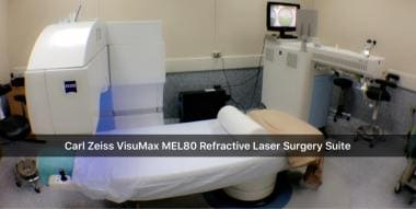 The VisuMax Femtosecond Laser, used in performing