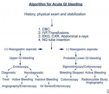 Acute Gastrointestinal Bleeding : Diagnosis and Treatment