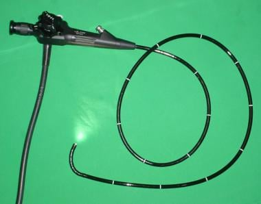 Flexible endoscope. Image courtesy of Wikimedia Co