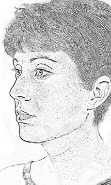 Figure 1. Youthful face.