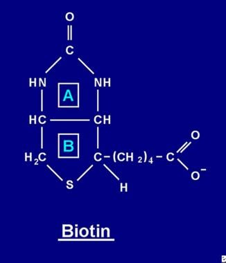 Biotin is a bicyclic (more precisely, heterocyclic
