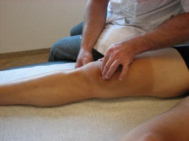 Patellofemoral compression test.