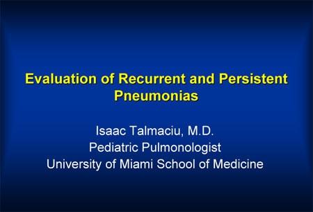 Bactrim pneumonia