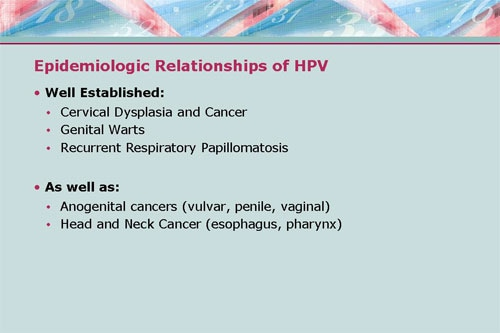 hpv and relationships