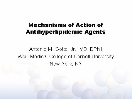 antihyperlipidemic