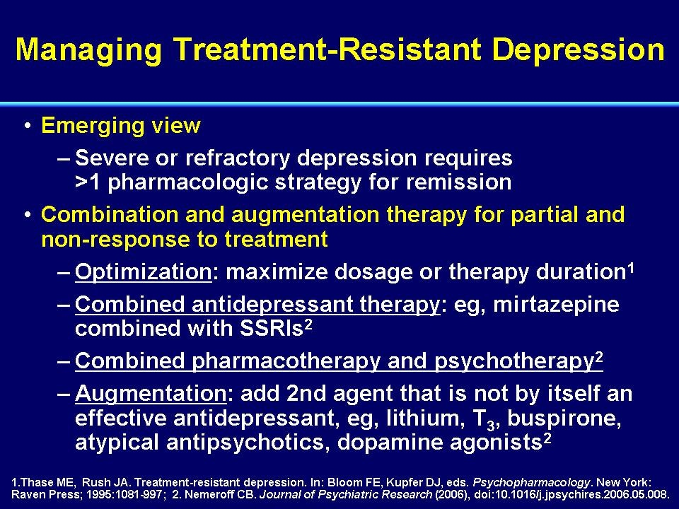 Module 1: Advances in the Biology and Treatment of Depression