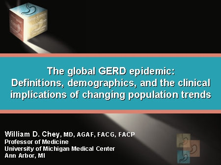 The Global GERD Epidemic: Definitions, Demographics, and the