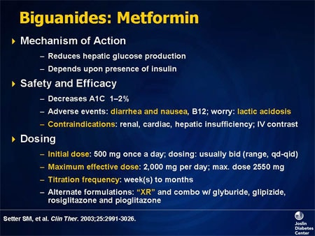 Metformin: Current knowledge - PubMed Central (PMC)