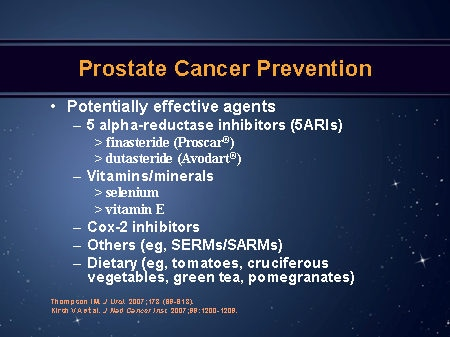 contemporary prostate cancer prevention (slides with transcript)prostate cancer prevention