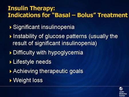 Insulin: Compare common options for insulin therapy