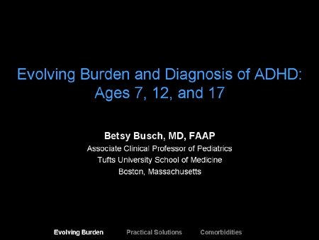 Adhd Supports Are Often Ineffective >> Evolving Burden And Diagnosis Of Adhd Ages 7 12 And 17