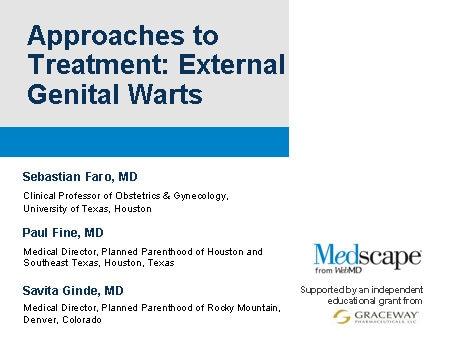 warts treatment medscape