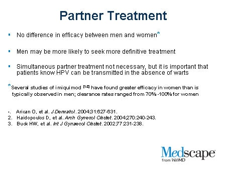 Approaches to Treatment: External Genital Warts (Slide with Transcript)