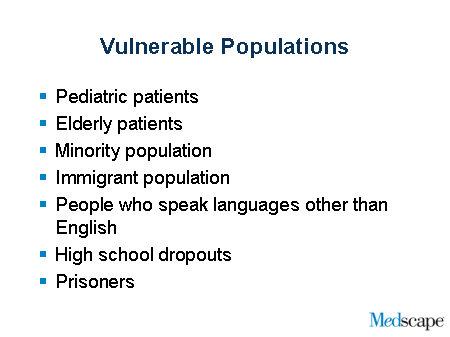 elderly vulnerable population