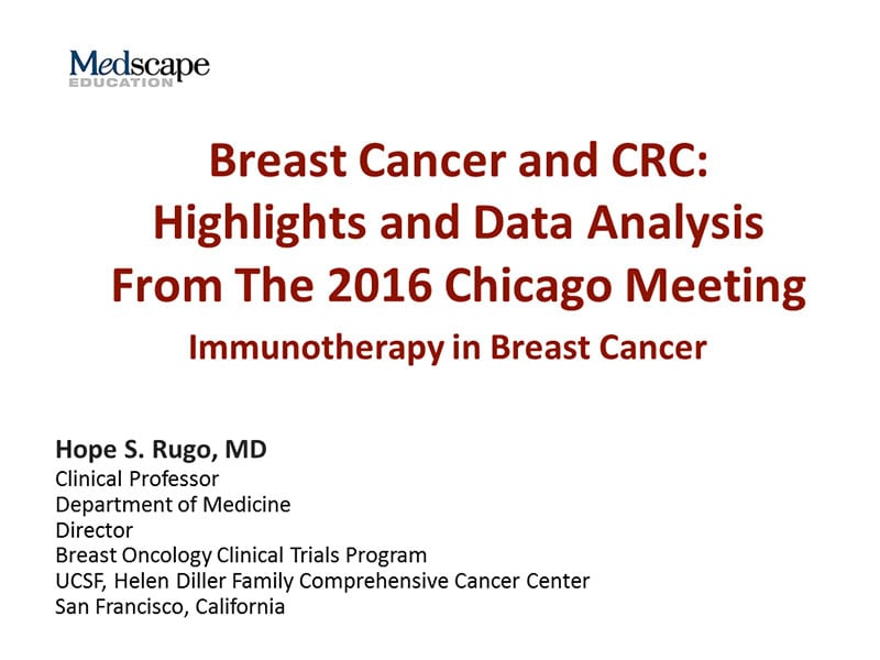 Breast Cancer and CRC: Highlights and Data Analysis From The