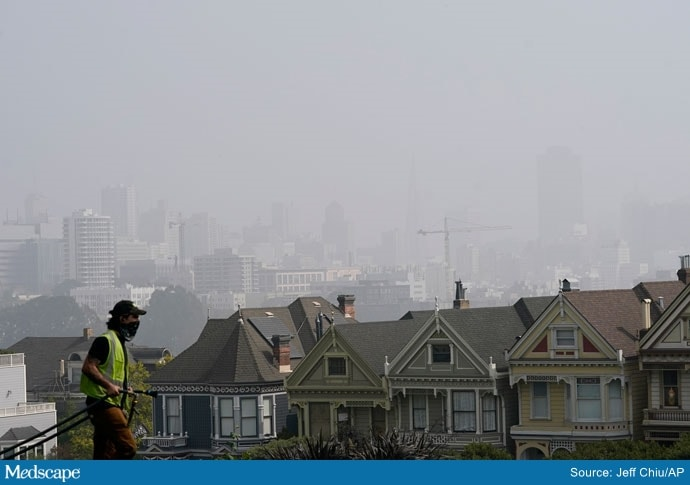 Seeping Under Doors, Bad Air From West's Fires Won't Ease Up 4