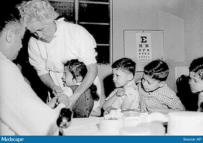When Vaccines and Re-emergence Were Just as Daunting    CINCINNATI (AP) — The COVID-19 pandemic and the distribution of the vaccines that will prevent it have surfaced haunting memories for Americans who lived through an earlier time when the country was swept by a virus that, for so long, appeared to have no cure or way to prevent it. Health