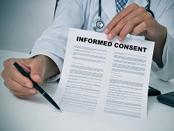 Legal Risks of Delegating Informed Consent to an NP or PA