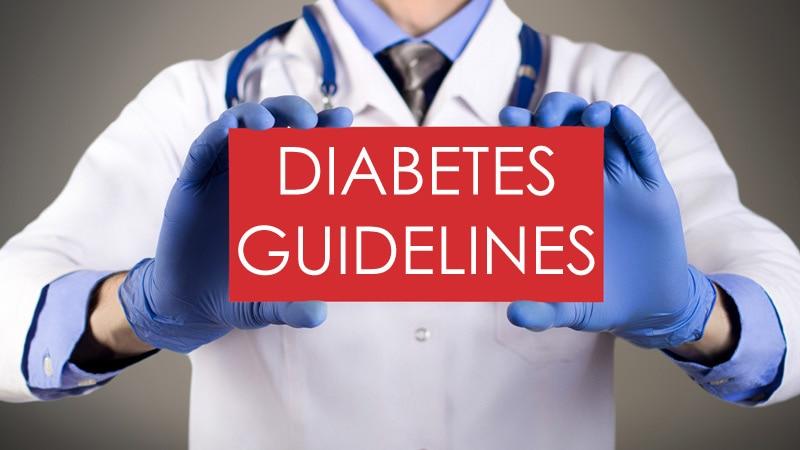 Choosing Type 2 Diabetes Guidelines: 'Shop' Carefully