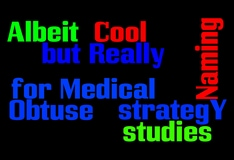The Alphabet Soup of Clinical Trial Acronyms (Transcript)