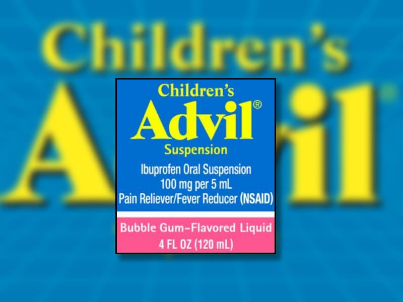 ... Children's Advil Recalled Over Dosage Cup Labeling ...